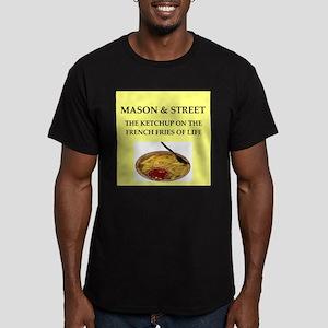 mason and street Men's Fitted T-Shirt (dark)
