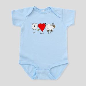 Eye Heart Ewe Infant Bodysuit