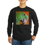 Delbert - Barbara Heidenreich Long Sleeve Dark T-S