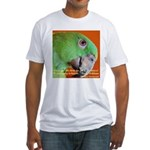 Delbert - Barbara Heidenreich Fitted T-Shirt