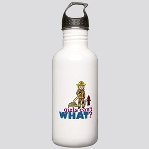 Firefighter Girls Stainless Water Bottle 1.0L