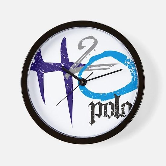 H2O Polo Wall Clock