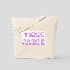 Pink team Jarod Tote Bag
