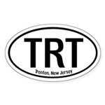Trenton, New Jersey Oval Sticker