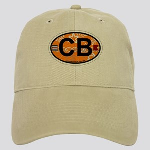 Cocoa Beach - Oval Design. Cap