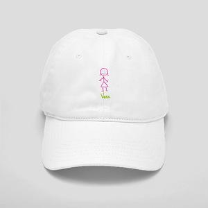 Vera-cute-stick-girl Cap