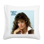 Catherine Mary Stewart Square Canvas Pillow