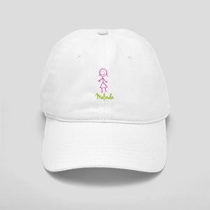 Melinda-cute-stick-girl Cap