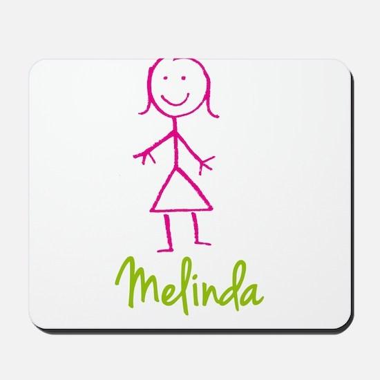 Melinda-cute-stick-girl.png Mousepad