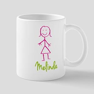 Melinda-cute-stick-girl Mug