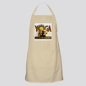 Yoga Light up the Darkness Apron
