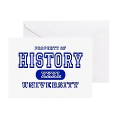 History University Greeting Cards (Pk of 10)