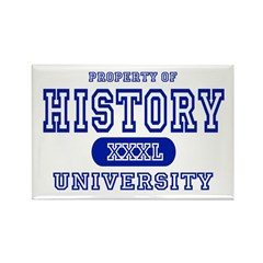 History University Rectangle Magnet (10 pack)
