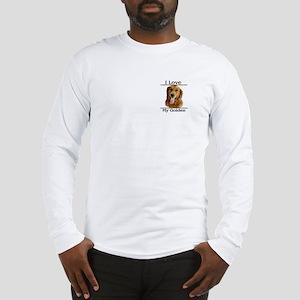 I Love My Golden Long Sleeve T-Shirt
