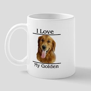 I Love My Golden Mug
