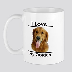 I Love My Golden Mug