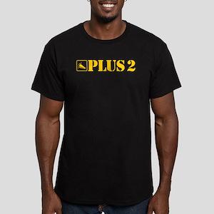 AutoX Plus 2 Men's Fitted T-Shirt (dark)