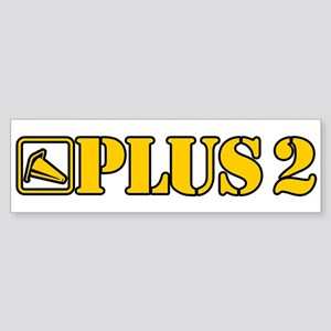 AutoX Plus 2 Sticker (Bumper)