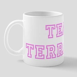 Pink team Terrance Mug