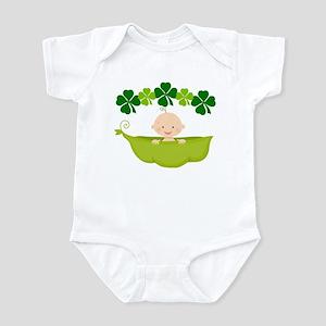 St Patricks Irish Baby Baby Light Bodysuit