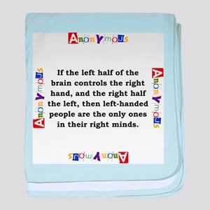 If The Left Half Of The Brain - Anonymous baby bla