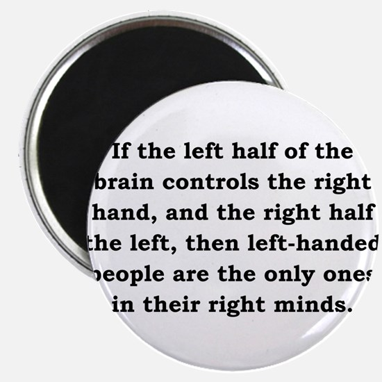 """If The Left Half Of The Brain - Anonymous 2.25"""" Ma"""