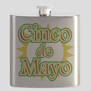 Cinco de Mayo 5th May Flask