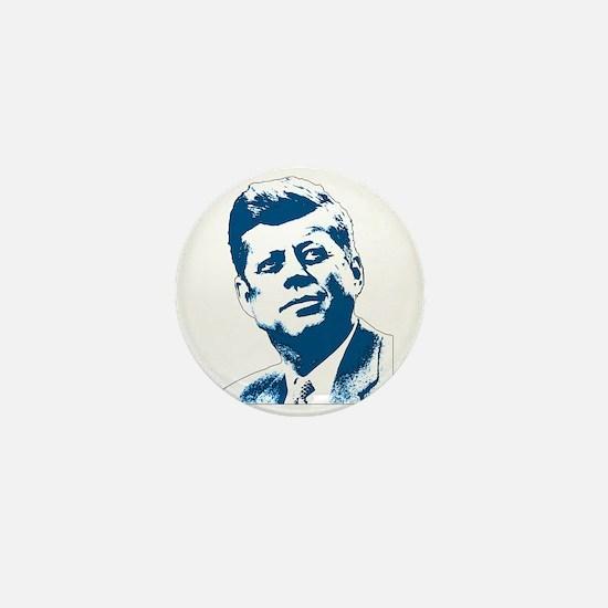 John F Kennedy Tribute Mini Button
