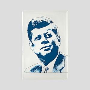 John F Kennedy Tribute Rectangle Magnet