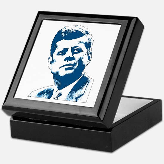 John F Kennedy Tribute Keepsake Box