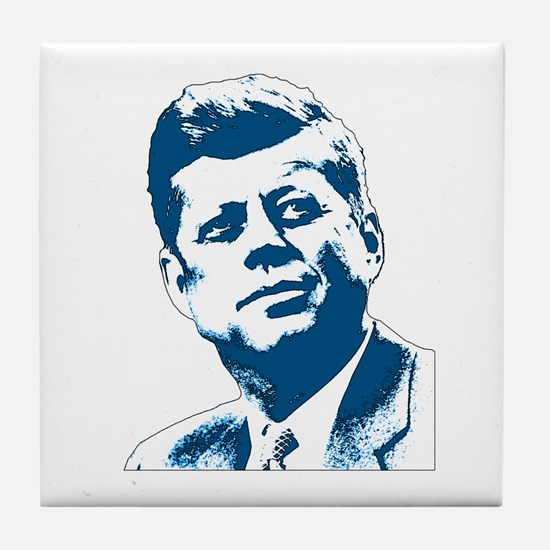 John F Kennedy Tribute Tile Coaster