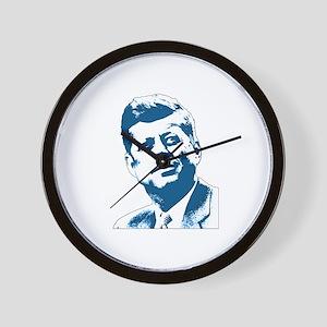 John F Kennedy Tribute Wall Clock