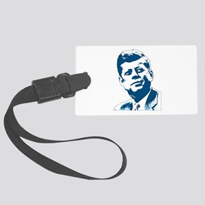 John F Kennedy Tribute Large Luggage Tag