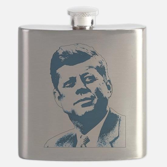 John F Kennedy Tribute Flask