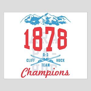 Arapahoe Basin Cliff Huck Champions Small Poster