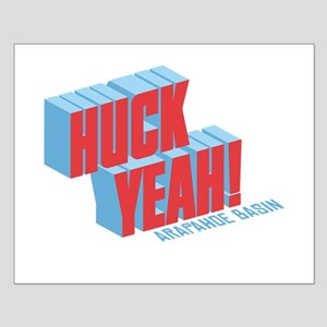 Huck Yeah A-Basin Small Poster
