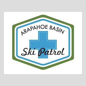 Arapahoe Basin Ski Patrol Small Poster