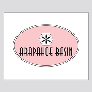 Arapahoe Basin Retro Patch Small Poster