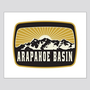 Arapahoe Basin Sunshine Patch Small Poster