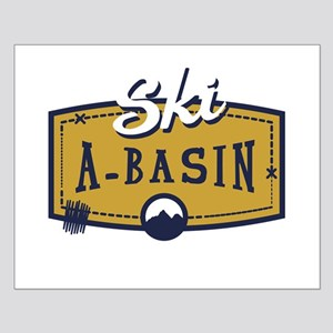 Ski Arapahoe Basin Patch Small Poster