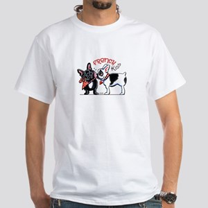 French Kiss White T-Shirt