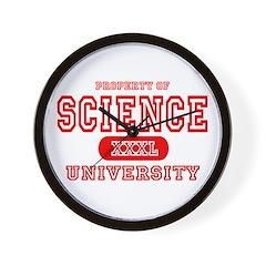 Science University Wall Clock