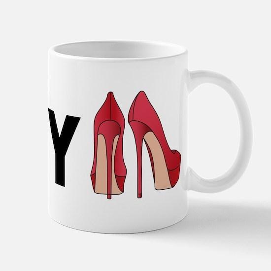 I love my shoes Mug
