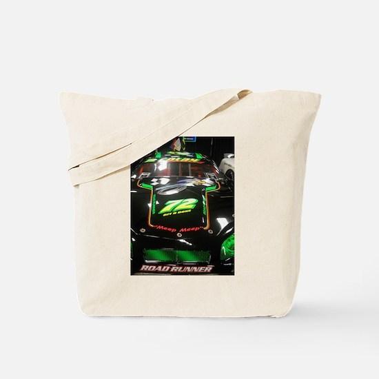 Meep Meep Racing Car Tote Bag