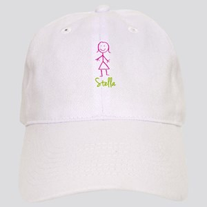 Stella-cute-stick-girl Cap