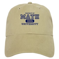 Math University Baseball Cap