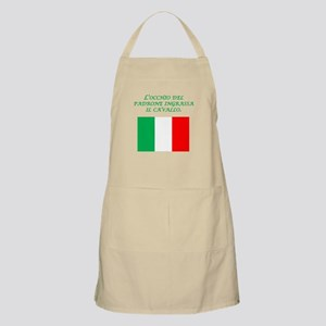Italian Proverb Business Owner Apron