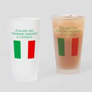 Italian Proverb Business Owner Drinking Glass