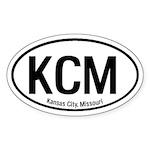 Kansas City, Missouri Oval Sticker