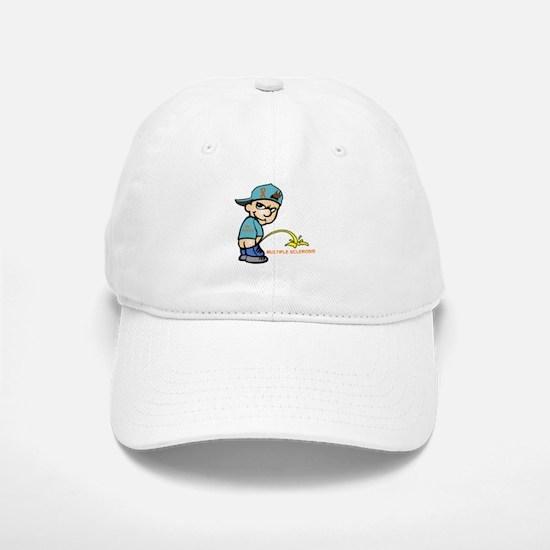 Piss on MS Baseball Baseball Cap